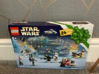 Brand new sealed Lego Star Wars Advent Calendar 2021