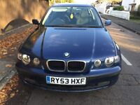 BMW 3 series compact 2.0 petrol - mot August 2017 -Spares / repair