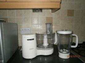 kenwood food processer and liqidiser excellent condition as new