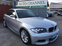 Bmw 1 series 2.0 123d m sport coupe 2dr. Free warranty. New mot