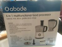 Abode 5 in 1 multifunctional food processor
