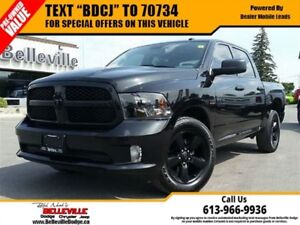 2016 Ram 1500 Blacktop Crew CAB - ONE Owner - Back UP CAM -