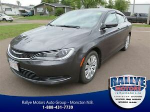 2015 Chrysler 200 LX! Push Button! Keyless! Trade-In! Save!