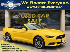 2015 Ford Mustang GT Premium, 6 Speed, Navigation, Not a Rental