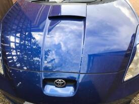 Toyota Celica bonnet Gen 7 blue