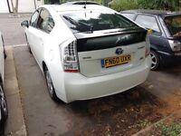 TOYOTA PRIUS T3 WHITE BLUETOOTH 2010(10) GENUINE MILES