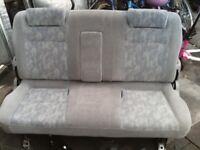 bongo third row rear seat .