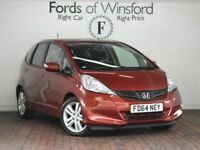 HONDA JAZZ 1.4 I-vtec Es Plus 5dr Cvt [Magic Seats, Climate Control] Auto (red) 2014