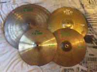 3 piece Pearl Cymbal set