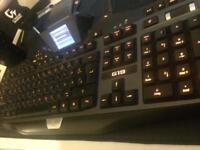 Logitech g19 keyboard gaming