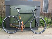 NO LOGO ALLOY SINGLE SPEED - FIXED GEAR - FIXIE BIKE