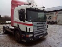 SCANIA 124L 400 LHD LEFT HAND DRIVE ORGINAL + HYDRAULIC GEAR FOR TIPPING TRAILER EXPORT WELCOME