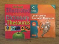 Oxford and Collins Dictionary - thesaurus - nearly new