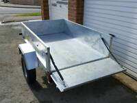 Franc 5x3 Trailer with cover