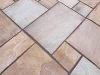 Premium Rippon Indian Sandstone Paving Slabs | Garden | Patio | 19m2 Pack