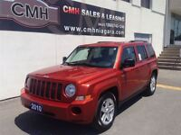 2010 Jeep Patriot NORTH ALLOYS LOADED (CERTIFIED)