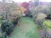 DOUBLE in GREAT QUIET CONSERVATION AREA views of HUGE GARDEN 20mby10m!!