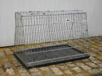 Dog crate for estate car/4x4