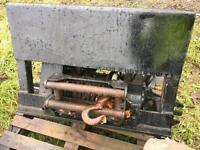 BOUGHTON Hydraulic winch great for timber forward tractor
