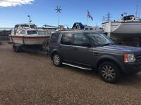 boat transport caravan and trailer towing collection and delivery service