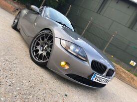 "BMW Z4 3.0 CONVERTIBLE SOFT TOP BBS 19"" ALLOYS"