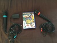High School Musical Sony PS2 Singstar with Microphones