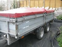 """Ifor Williams Twin Axel Drop Side Trailer 14'6"""" X 6'7"""" in great condition, 5 mins from Jct 21 M5"""