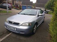 Astra Bertone 1.8 Convertible / Cabriolet Cheap, Project? Long MOT, Quick sale