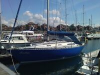 32 foot sailing boat / yacht - for sale or swap - on water in Liverpool