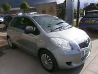 2008 TOYOTA YARIS 1.0 MANUAL 3DOOR, HPI CLEAR, FULL SERVICE, NEW CLUTCH, DRIVES VERY NICE