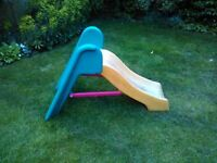 Yellow & Green Durable Little Tikes Slide In Good Used Condition