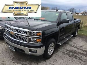 2015 Chevrolet Silverado 1500 1LT CREW 4WD 6.5FT BOX, POWERSEAT,