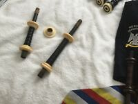 Vintage Bagpipe Parts