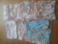 0-3m baby girl clothes bundle