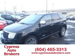 2008 Lincoln MKX Leather, Sunroof & Navigation