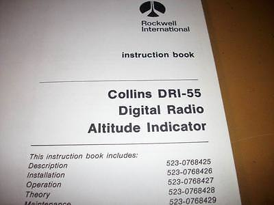 Service Indicator Manual - Collins DRI-55 Indicator Service Manual