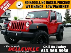 2014 Jeep Wrangler Sport 4X4 Hard TOP - Automatic - A/C - ONE Ow