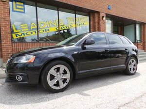 2009 Audi A3 2.0T-S-LINE, QUATTRO, PAN SUNROOF, NO ACCIDENTS!!