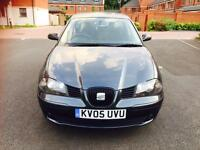 SEAT IBIZA SX 1.2 MANUAL PETROL 5 DOORS WITH LOW MILEAGE