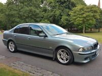 BMW 530D M SPORT DIESEL AUTOMATIC SLATE GREEN LEATHER HEATED SEATS ** RARE INDIVIDUAL INTERIOR **