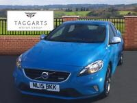 Volvo V40 T2 R-DESIGN (blue) 2015-03-17