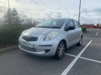 Only 54k miles - 2007 (56) Toyota Yaris T3 Semi Automatic 1.2 5dr Hatchback Silver Petrol, FSH