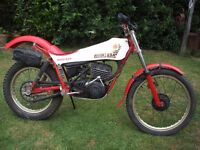 Montesa 349 59M classic twin shock trials bike ESSEX