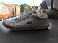 Great Condition Kids Lacoste Size 11