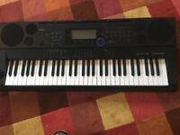 Casio CTK-6000 Highgrade Keyboard with stand.