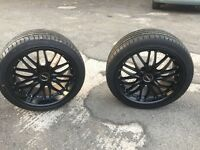 BMW 18 alloy wheels Brand New