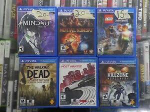 Assorted PSVita Games
