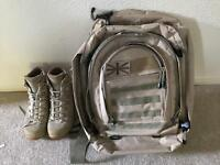 Bug Out Gear - Bergen Back-Pack Camping Bag Army Desert