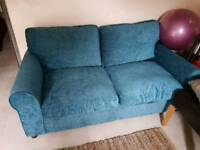 Two Seater Bed Setter in Teal