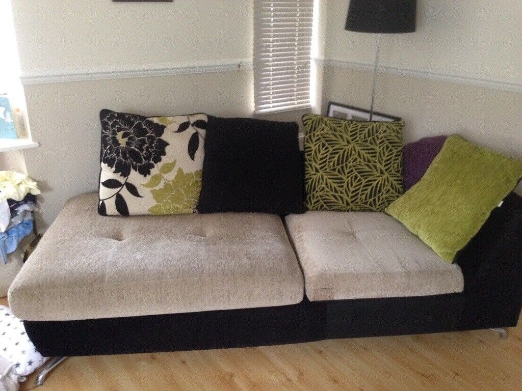 Lime Green Corner Sofa Furniture Village In 2 Parts In